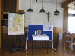 """""""KiGo-Altar"""" mit Landkarte"""